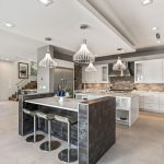 Custom kitchen design bar area by Blue Daze Designs, orlando interior design