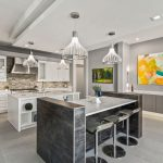 Custom kitchen design bar by Blue Daze Designs, orlando interior design