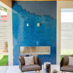 Grinnell Modern: Outdoor Fireplace