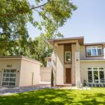 Grinnell Modern: Front Elevation