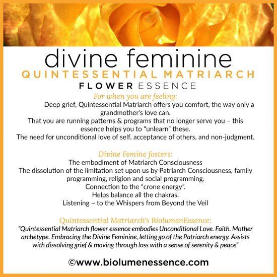 Divine Feminine Quintessential Matriarch