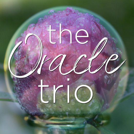 flower essence oracle trio