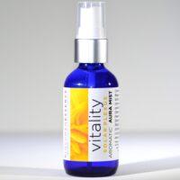 Vitality solar plexus chakra aromatica aura mist
