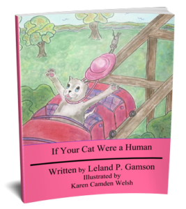 3D book cover for If Your Cat Were a Human