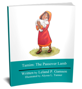 3D Book cover for Tamim the Passover Lamb