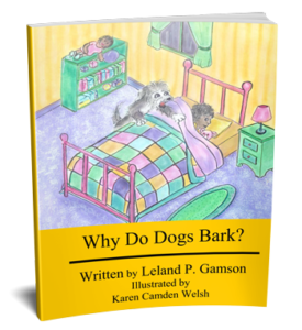 3D Book Cover for Why Do Dogs Bark