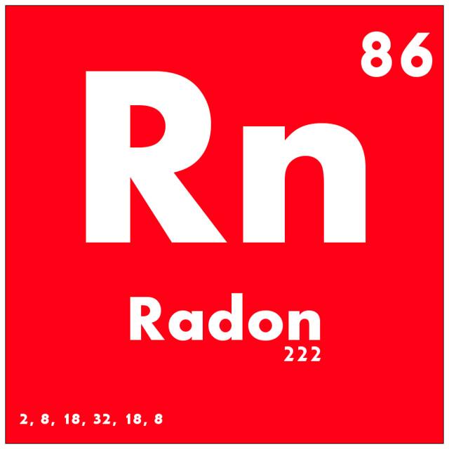 history of radon gas