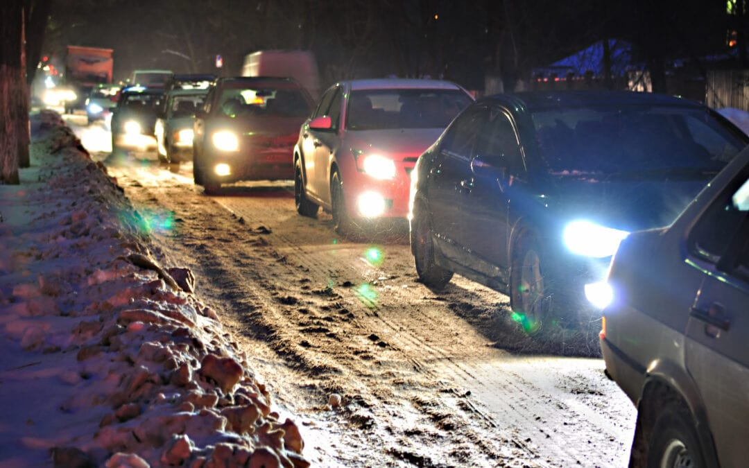 Dangerous Icy Roadways