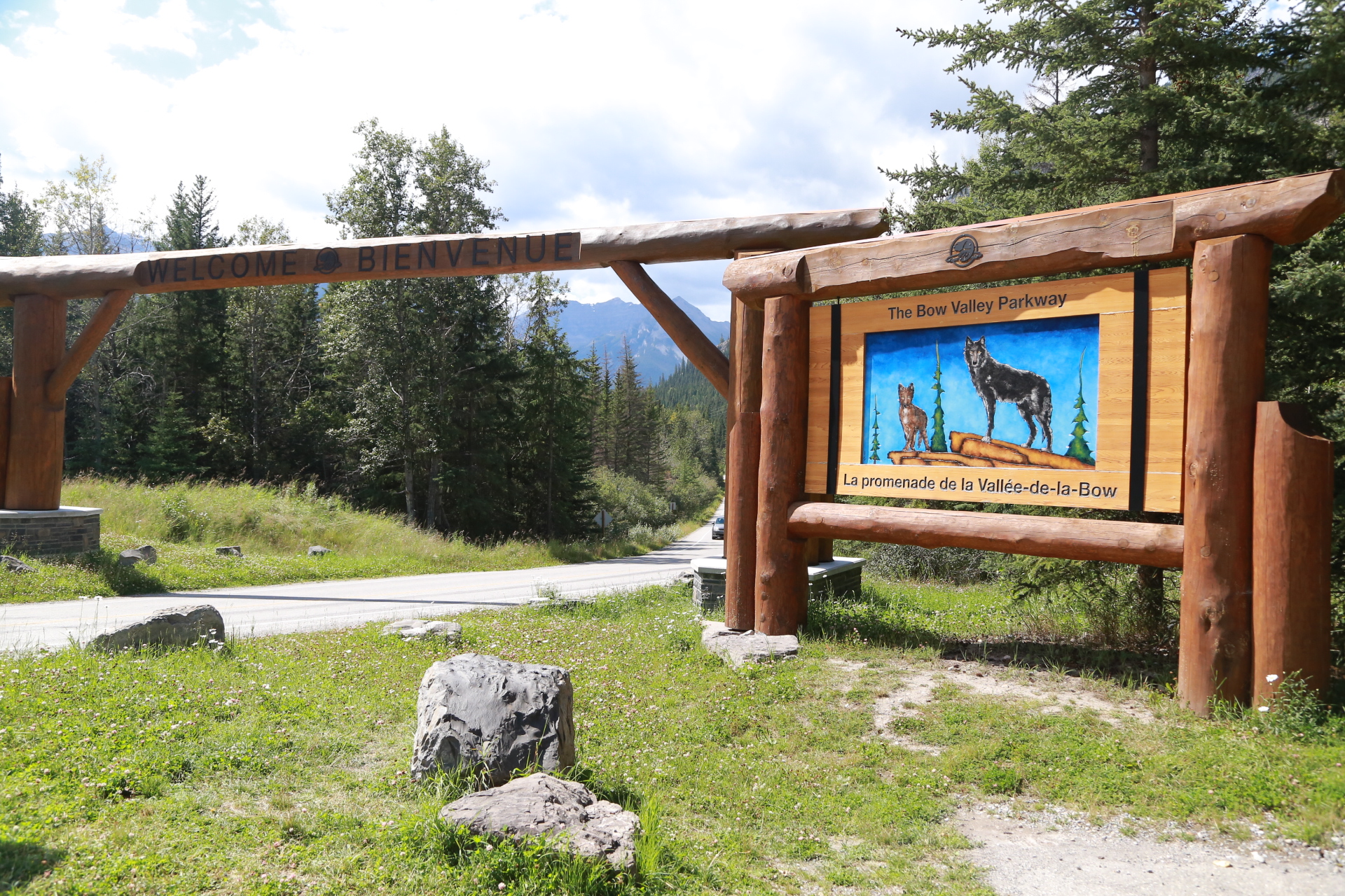 Erie Nick Lake Louise City Guide: Bow Valley Parkway