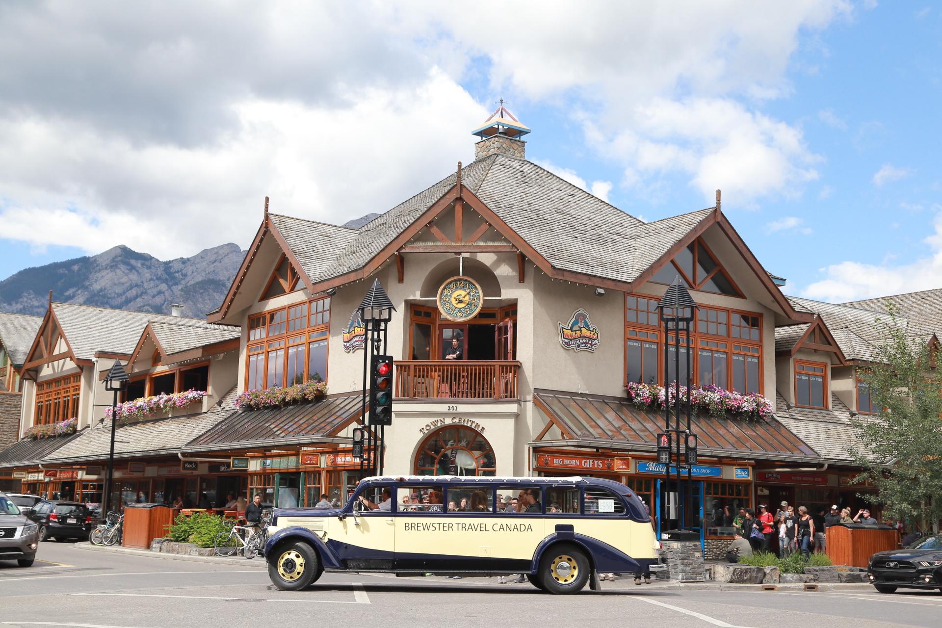 Erie Nick: Downtown Banff