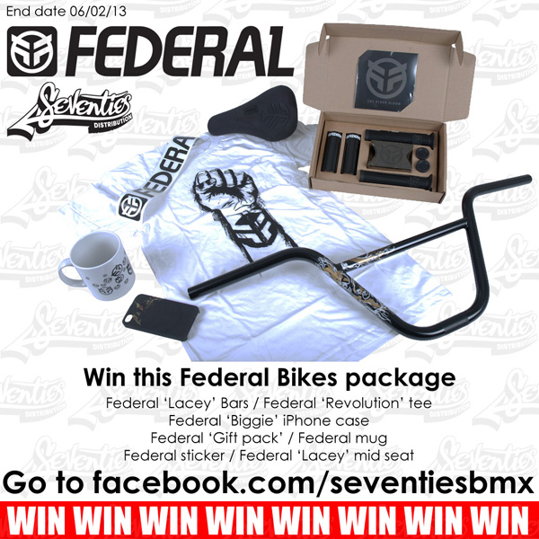 federal giveaway poster