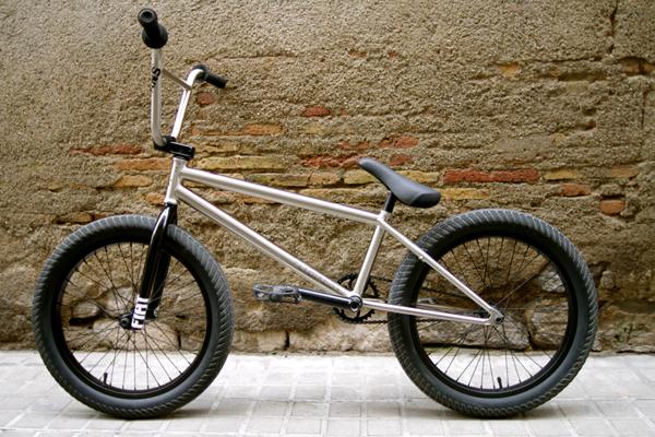 Stefan Lantschner BMX bike