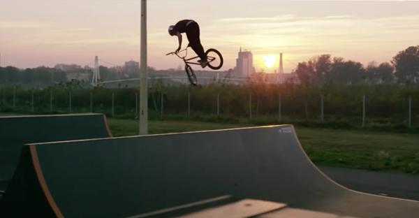 Marin Rantes Red Bull BMX video