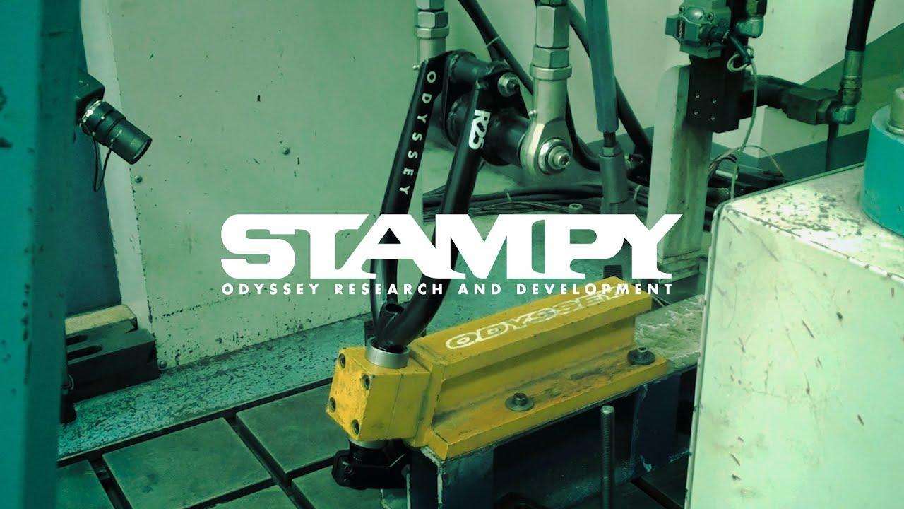 Odyssey BMX fork test stampy