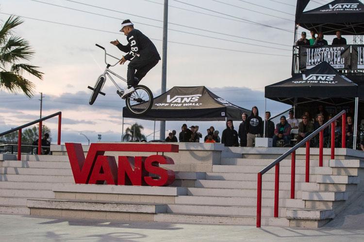 Vans BMX Street Invitational Chad Kerley