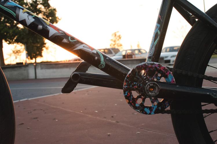 Dan Kruk BMX Bike Check Wethepeople Battleship