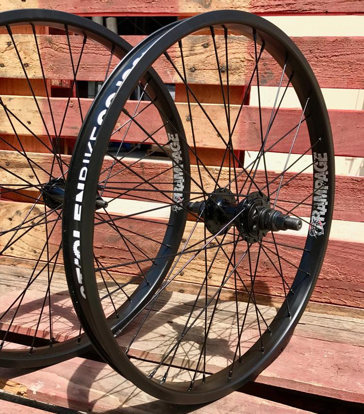 """Stolen BMX 22"""" Bike Wheels Rampage"""