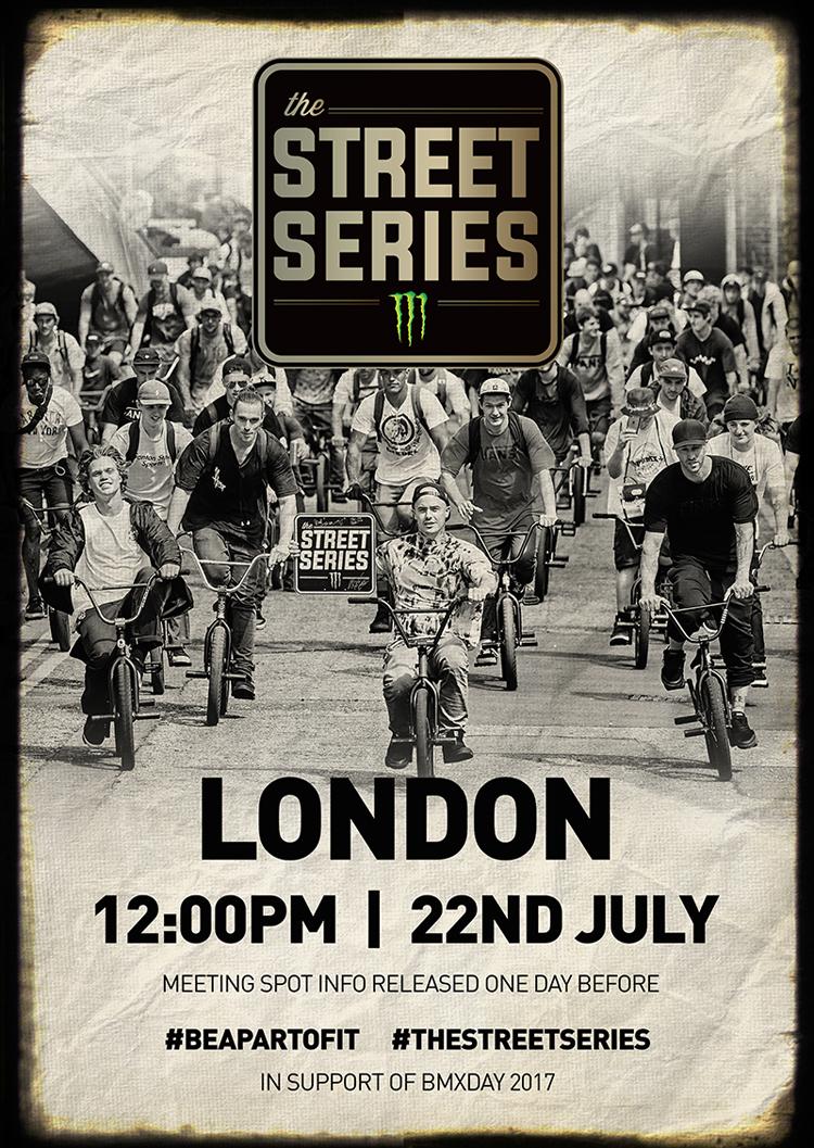 Monster Energy The Street Series 2017 London BMX Day