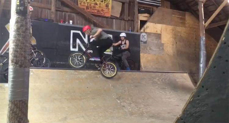 Dave Mahoney Nowear Barn Session BMX video