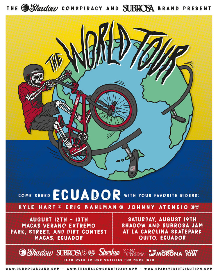 The Shadow Conspiracy and Subrosa World Tour Ecuador