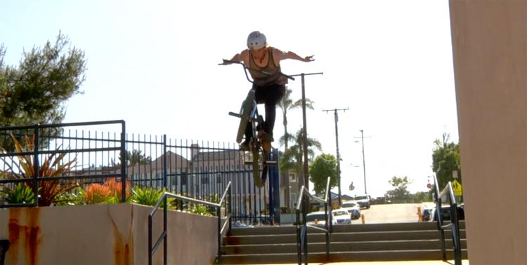 Stolen BMX Saturdays Jerimiha Miller BMX video