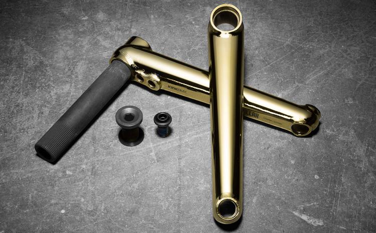 Kink BMX Gold Pillar Cranks