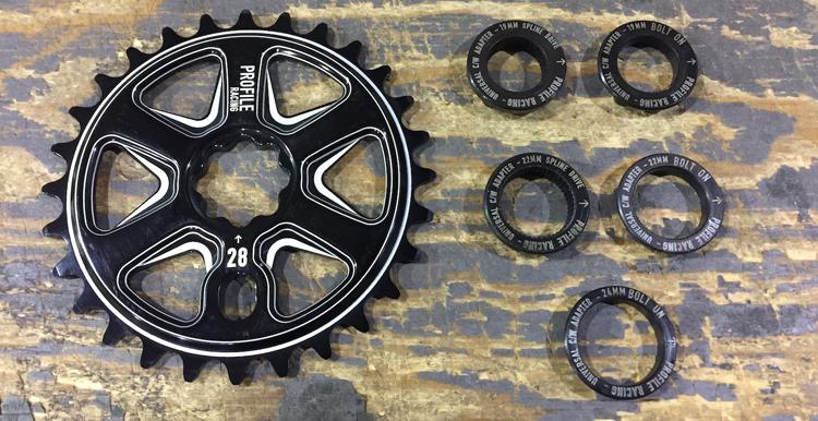 Profile Racing Spline Drive BMX sprocket