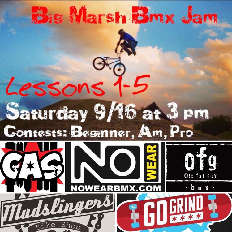 Big Marsh BMX Jam Flyer