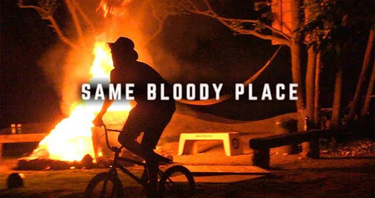 Same Bloody Place Villa Road BMX video