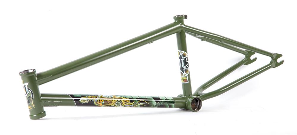 Fit Bike Co 2018 Hoodbird BMX Frame Green
