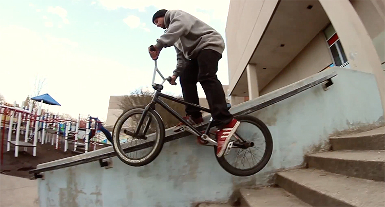 90East Neighborhood Watch BMX video