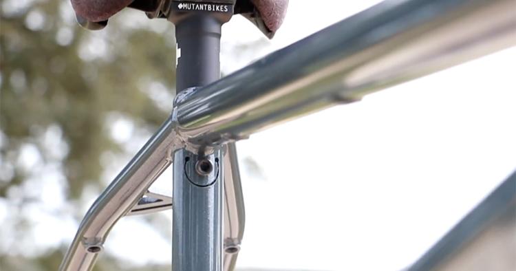 Mutant Bikes Smile Seat Post System BMX