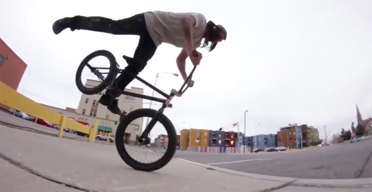 S&M Bikes Derek Dorame Hot Dogs Who Can't Read BMX Video