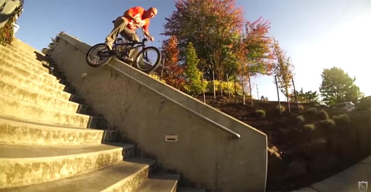 SM Bikes Hot Dogs Who Can't Read BMX DVD Mix Section