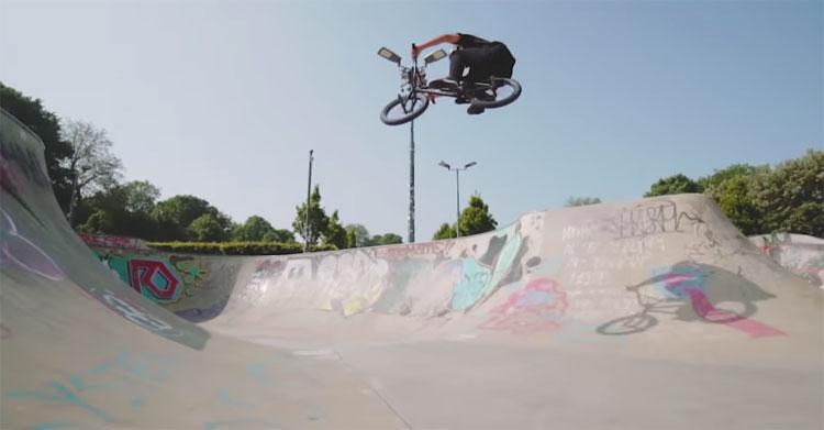 Isaac Lesser MK10 BMX video Mankind BMX