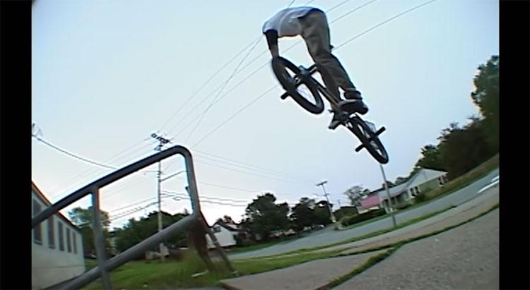 Matt Comeau Maple of my Eye BMX video