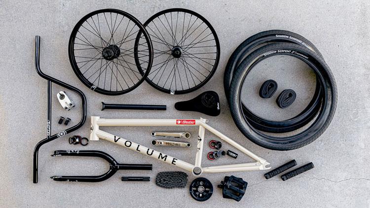 Volume Bikes Eric Bahlman Bike Check BMX