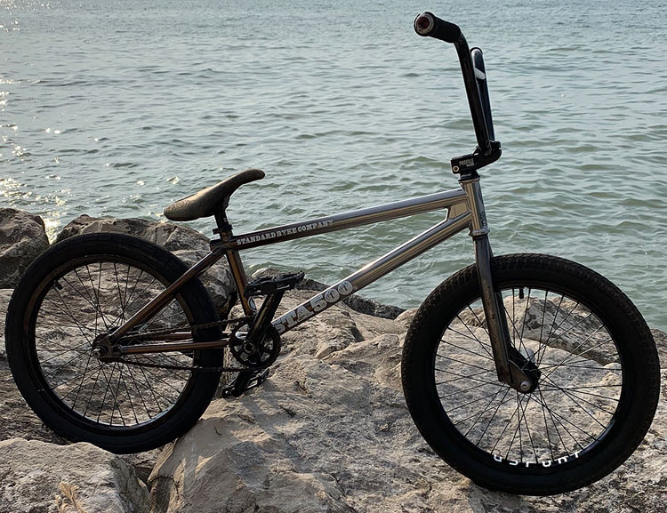 Johnny DelBalso BMX Bike Check Profile Racing