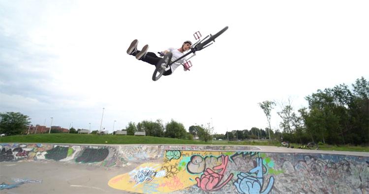 Joel Bondu Going Around BMX Video