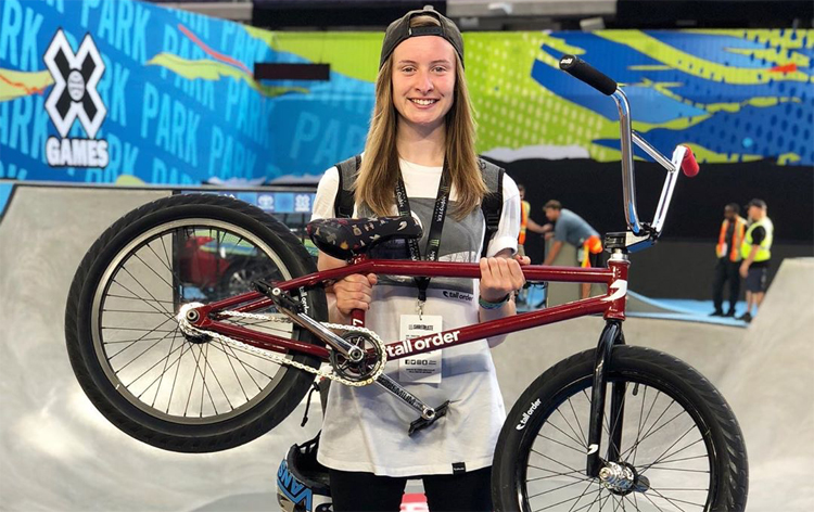 Charlotte Worthington Off Tall Order BMX