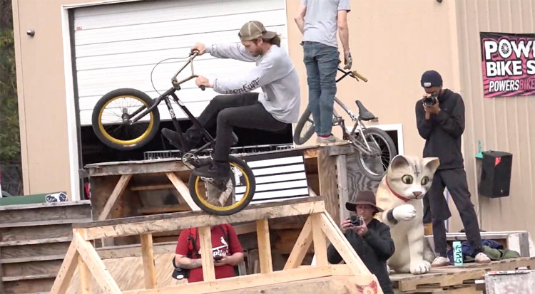 Ghetto Ramps In Richmond BMX video