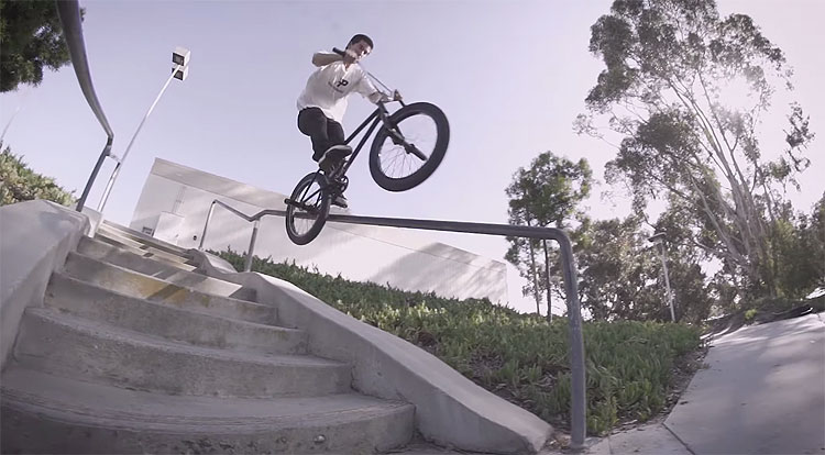 Wolfgang Ray Division Brand Make Noise BMX video