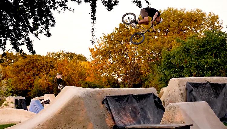 Villa Road Woodyard Trails Turn It Down Turn It Up BMX video