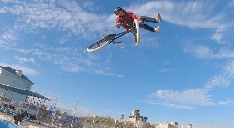 Joji Mizogaki BMX video