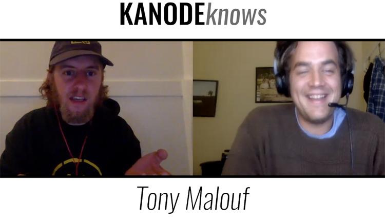 Kanode Knows Tony Malouf BMX