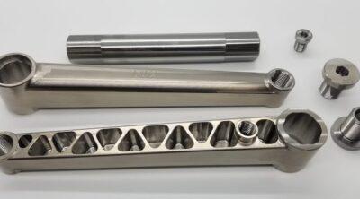 RNC Titanium BMX Cranks
