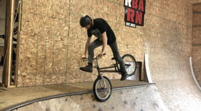 Trip To Gnar Barn BMX video