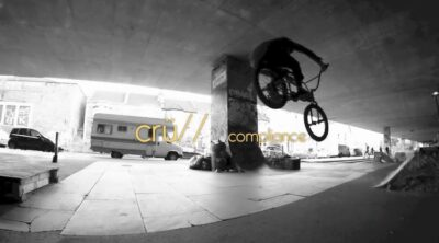 Beige Cru BMX video Compliance