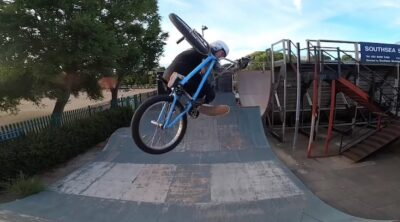 How To Invert / Tabletop on a BMX bike with Mark Webb