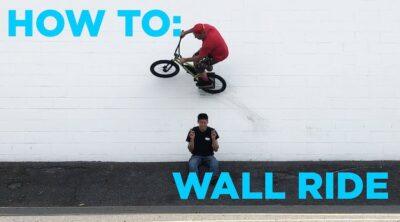 How To Wallride On A BMX bike